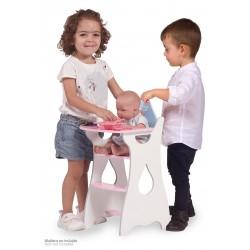 Compra online tu Trona Madera de Muñecas Martín De Cuevas Toys 55429 al mejor precio. Entrega en 24-48 horas.