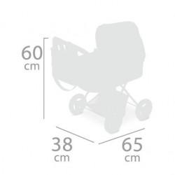 Carro de Muñecas Little Pet Plegable De Cuevas Toys 85039 | De Cuevas Toys