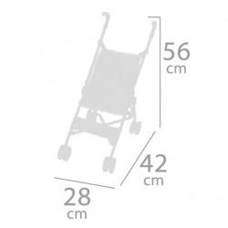 Carro de Muñecas Plegable Silla De Cuevas Toys 90093 | De Cuevas Toys