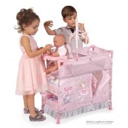 Armario Cambiador de Muñecas Plegable Magic María De Cuevas Toys 53034 | De Cuevas Toys