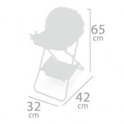 Trona Plegable de Muñecas Martín De Cuevas Toys 53229 | De Cuevas Toys