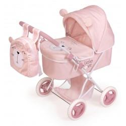 Carro de Muñecas Little Pet Plegable DeCuevas Toys 85039