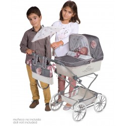 Carro de Muñecas Reborn Plegable DeCuevas Toys 82031 | DeCuevas Toys