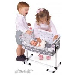 Cuna de Muñecas Regulable Duerme Conmigo Sky DeCuevas Toys 51235 | DeCuevas Toys