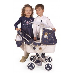 Carro de Muñecas Classic Romantic Plegable DeCuevas Toys 85032 | DeCuevas Toys