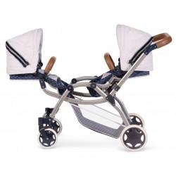 Carro de Muñecas Gemelar Plegable  Top Collection 80337 | DeCuevas Toys