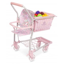 Carrito de la Compra porta bebé Ocean Fantasy DeCuevas Toys 52141