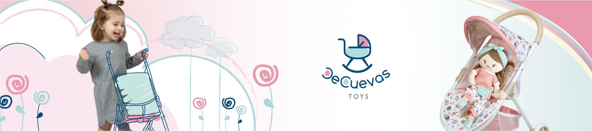 De Cuevas Toys | Sillas de paseo para muñecas