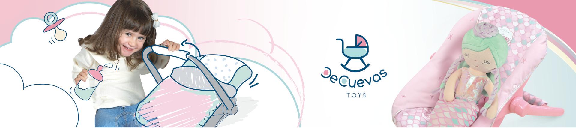 DeCuevas Toys | Tronas y accesorios para muñecas